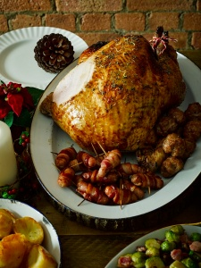 A field&flower free range Christmas Turkey